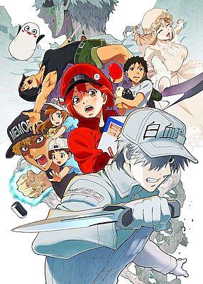 Hataraku Saibou poster